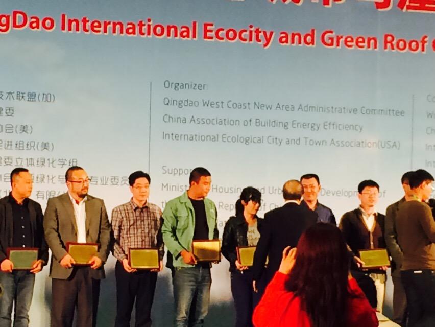 百果山田园绿化荣获:世界科技创新奖