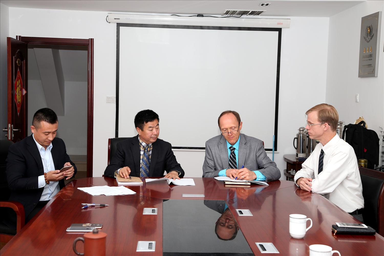 百果山实业公司召开2014年经济工作座谈会